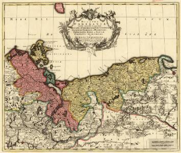 Ducatus Pomeraniae Tabula Generalis