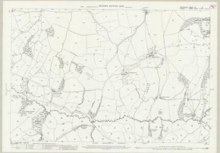 Devon LX.16 (includes: Hawkchurch; Thorncombe) - 25 Inch Map