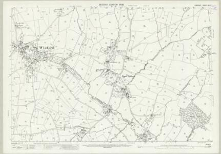 Somerset XII.5 (includes: Chew Magna; Chew Stoke; Dundry; Winford) - 25 Inch Map