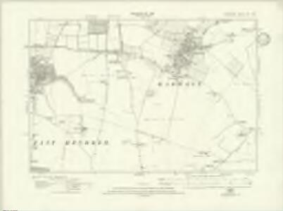 Berkshire XV.SW - OS Six-Inch Map