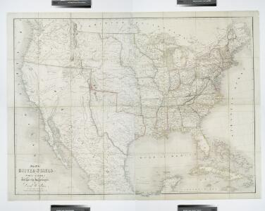 Map of the United States of North America: with parts of the adjacent countries / by David H. Burr (late topographer to the Post Office), geographer to the House of Representatives of the U.S.