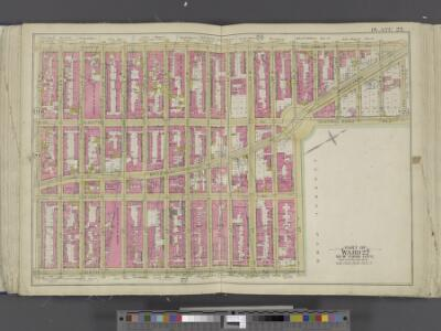 Manhattan, Double Page Plate No. 23 [Map bounded by 9th Ave., W. 59th St., 6th Ave., W. 47th St.]