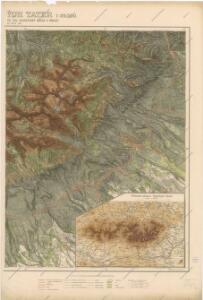 Podrobná mapa Vysokých Tater