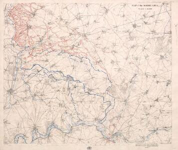Map of the Somme area. Dec. 1916.