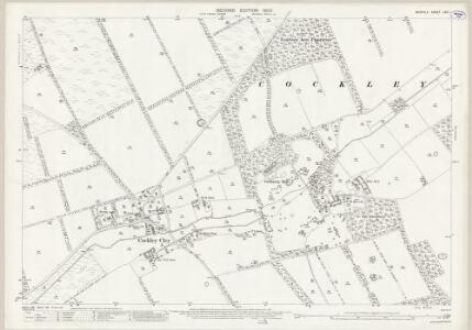 Norfolk LXXI.1 (includes: Cockley Cley) - 25 Inch Map