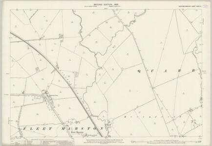 Buckinghamshire XXVIII.6 (includes: Fleet Marston; Quarrendon) - 25 Inch Map