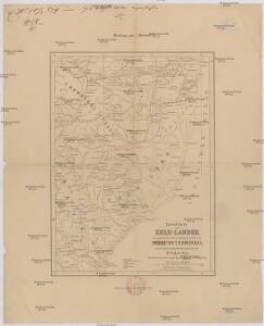Special-Karte des Zulu-Landes, der angrenz. britischen Colonial-Territorien Natal und Transvaal u. d. portugiesischen Besitzungen an der Delagoa Bay