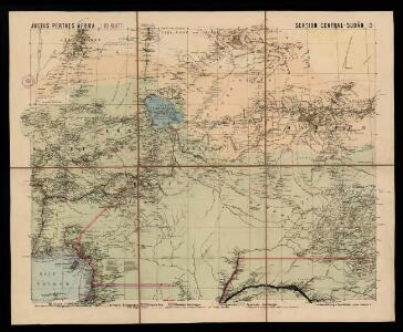 Spezial - karte von AfricaSektion Central-Sudân (5)