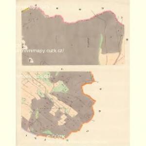 Alt Moletein (Moletin Stary) - m2870-1-003 - Kaiserpflichtexemplar der Landkarten des stabilen Katasters