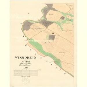 Wissokein - m3508-1-002 - Kaiserpflichtexemplar der Landkarten des stabilen Katasters
