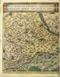 Palatinatvs Bavariae descriptio