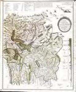 Carte en perspective du nord au midi