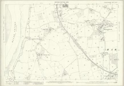 Gloucestershire XLVII.12 (includes: Ham and Stone; Hamfallow; Hinton; Lydney) - 25 Inch Map