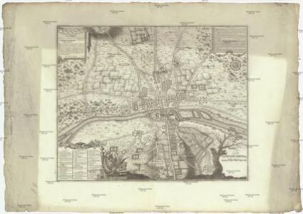 Troisieme plan de la ville de Paris