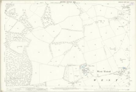 Hampshire and Isle of Wight XLII.16 (includes: Bishops Sutton; Bramdean; Ropley; West Tisted) - 25 Inch Map