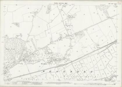 Kent XXXVI.9 (includes: Sturry; Westbere) - 25 Inch Map