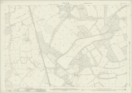 Surrey XXXIX.15 (includes: Cranleigh) - 25 Inch Map