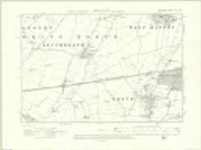 Berkshire XIV.NW - OS Six-Inch Map