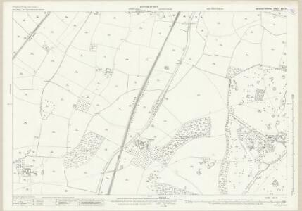 Worcestershire XXII.15 (includes: Dodderhill; Hanbury) - 25 Inch Map