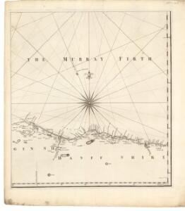A chart of part of the North of Scotland, from Banff to Duncansby Head.