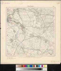 Messtischblatt 1452 : Hemelingen, 1898 Hemelingen