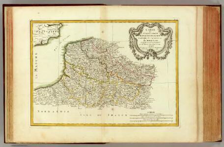 Flandre francoise, Artois, Picardie, Boulenois.