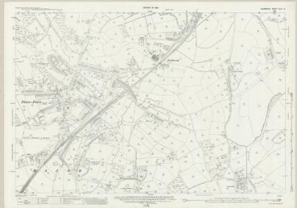 Glamorgan XLVII.10 (includes: Michaelston Le Pit; Penarth; St and rews Major) - 25 Inch Map