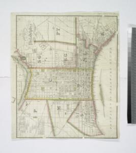 Plan of the city of Philadelphia / compiled from actual survey by J. Drayton.