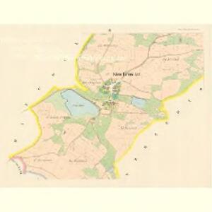 Klein Petrowitzel (Maly Petrowiczky) - c5742-1-002 - Kaiserpflichtexemplar der Landkarten des stabilen Katasters