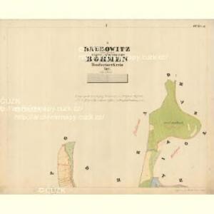 Baurowitz - c0079-1-001 - Kaiserpflichtexemplar der Landkarten des stabilen Katasters