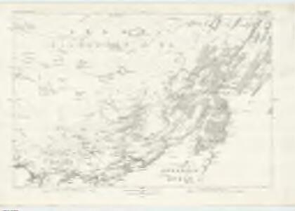 Argyllshire, Sheet CCXXXII - OS 6 Inch map