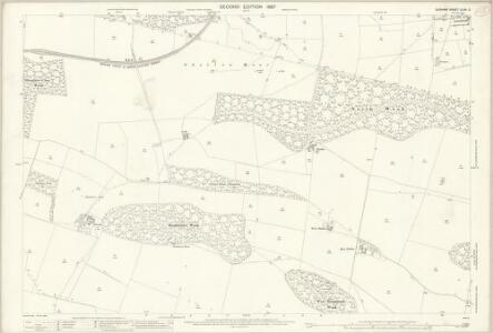 Durham XLVII.2 (includes: Cockfield; Langleydale And Shotton; Raby With Keverstone) - 25 Inch Map