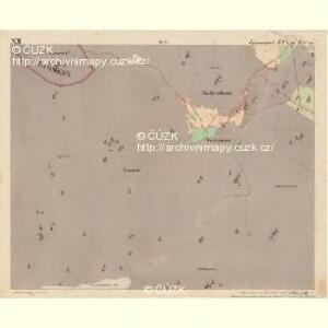 Eisenstrass - c1950-1-012 - Kaiserpflichtexemplar der Landkarten des stabilen Katasters