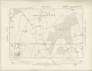 Nottinghamshire XXI.NE - OS Six-Inch Map