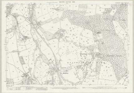 Devon XXXIV.15 (includes: Tiverton; Washfield) - 25 Inch Map