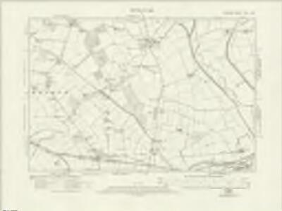 Durham XLIII.SW - OS Six-Inch Map