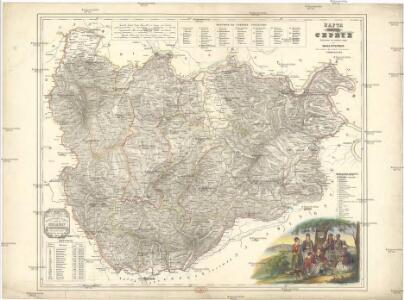 Karta knjažestva Serbie