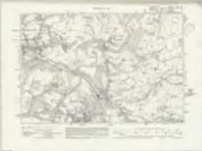 Lancashire CXII.SE - OS Six-Inch Map