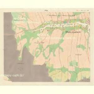 Dittersdorf (Czerny) - m0370-1-006 - Kaiserpflichtexemplar der Landkarten des stabilen Katasters