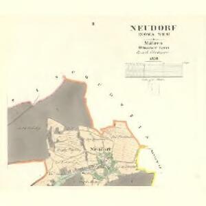 Neudorf (Nowa Wes) - m2030-1-002 - Kaiserpflichtexemplar der Landkarten des stabilen Katasters