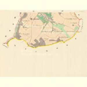 Mirotein (Merotine) - m1765-1-002 - Kaiserpflichtexemplar der Landkarten des stabilen Katasters