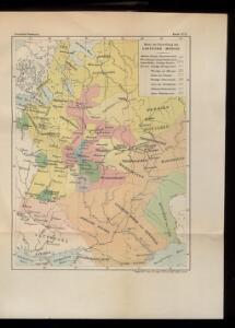 Karte der Entstehung des Zarthums Moskau