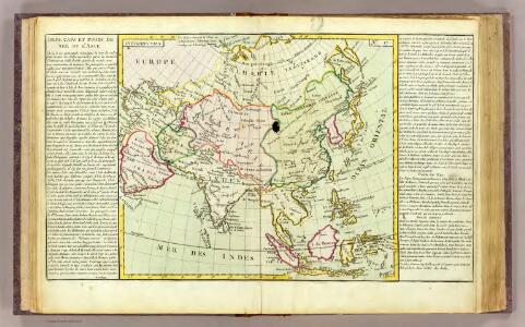 L'Asie isles, caps, ports.