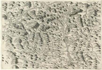 Stÿriae Ducatus Fertilisimi Nova Geographica Descriptio