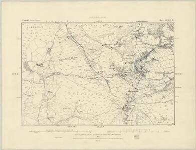Cornwall XXVIII.SE - OS Six-Inch Map