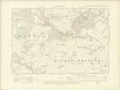 Yorkshire CXXXVI.NE - OS Six-Inch Map