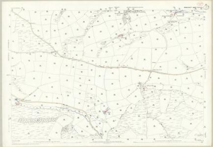 Somerset XLVI.10 (includes: Cutcombe; Winsford) - 25 Inch Map