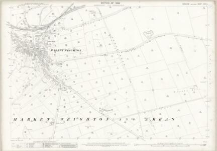 Yorkshire CCIX.2 (includes: Market Weighton) - 25 Inch Map