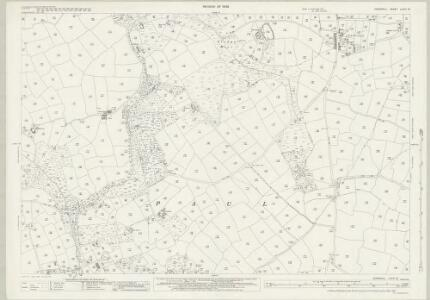 Cornwall LXXIV.13 (includes: Paul; Penzance; St Buryan) - 25 Inch Map