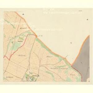 Bohonitz - c0319-1-005 - Kaiserpflichtexemplar der Landkarten des stabilen Katasters